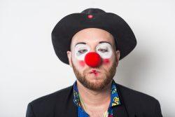 Sören Ergang, Schauspieler Bonn Clown